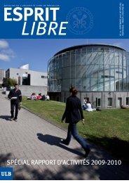 septembre 2010 - Université Libre de Bruxelles