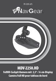 NavGear FullHD-DVR-Autokamera MDV-2250.HD mit TFT ... - Ulbi.info