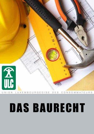 Das Baurecht - Union luxembourgeoise des consommateurs