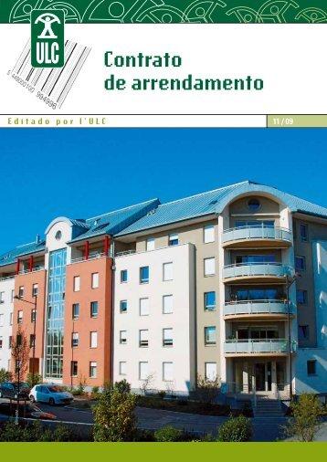 Contrato de arrendamento - Union luxembourgeoise des ...