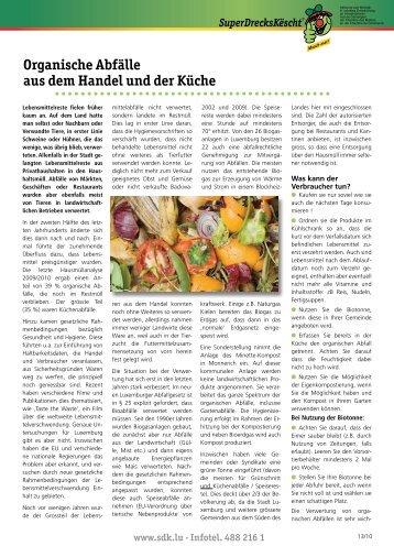 Organische Abfälle aus dem Handel und der Küche - Union ...