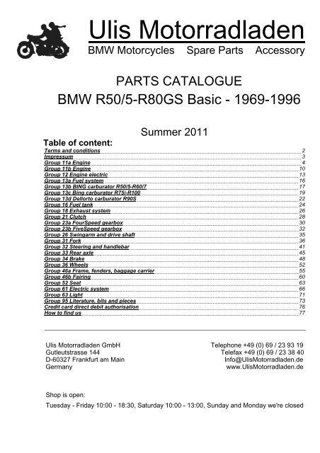 Bing Carburetor Idle Jet #45 BMW R65,R75,R80,R90,R100