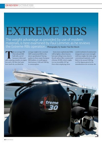 Extreme 30 Review.indd - Ullman Dynamics