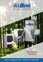 Prospekt UK P 20 J (pdf, ca 600 kB) - Ullmann