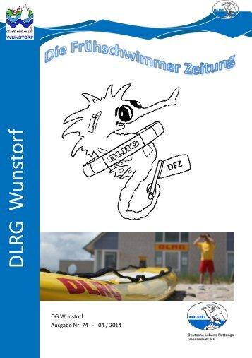 Die Frühschwimmer Zeitung 04/2014 - DLRG Wunstorf