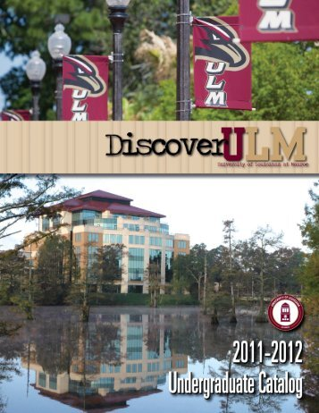 undergraduate catalog - University of Louisiana at Monroe