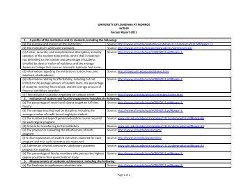 HCR 69 Report [pdf] - University of Louisiana at Monroe