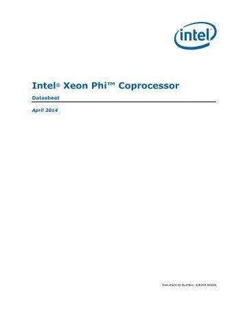Xeon-Phi-Coprocessor-Datasheet