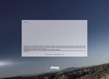 www.jeep.de Die in diesem Prospekt enthaltenen Beschreibungen ...