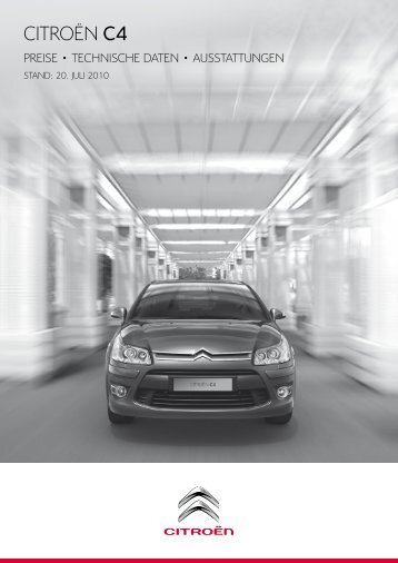 CitROËn C4 - Auto Motor und Sport