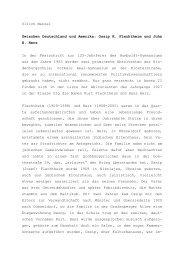 Ossip K. Flechtheim und John H. Herz