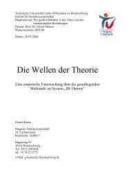 Die Wellen der Theorie - Prof. Dr. Ulrich Menzel