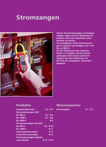 Beha-Amprobe Stromzangen-Katalog - Ulrichmatterag.ch