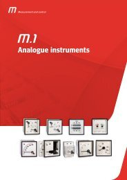 Analogue instruments - Ulrichmatterag.ch