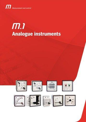Analogue instruments - Ulrichmatterag.ch