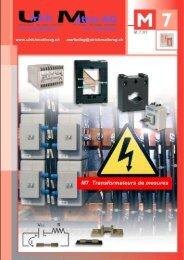 Circutor catalogue M7 Transformateurs de ... - Ulrichmatterag.ch