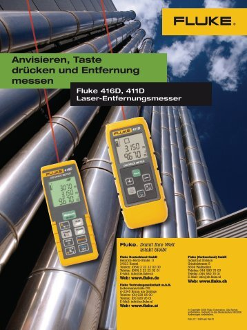 Fluke 416D/411D - Industrievertretung R. Krause GmbH