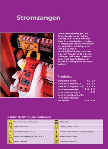 Beha-Amprobe Stromzangen Katalog - Ulrichmatterag.ch