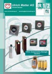 Composants d'énergie réactive - Ulrichmatterag.ch
