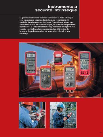 Fluke Instruments a sécurité intrinsèque - Ulrichmatterag.ch