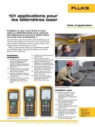 101 utilisations d'un télémètre laser - Ulrichmatterag.ch