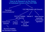 How to do Research on the History of Individual ... - Ulrich Rhode