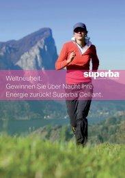 Superba Celliant Matratze - Schmidli Erlenbach