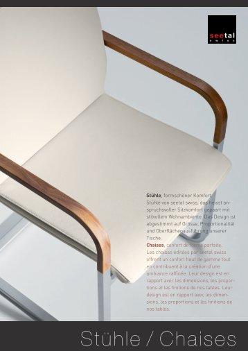 Stühle / Chaises