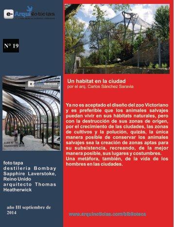 e-AN N° 19 nota N° 1 Un habitat en la ciudad por el Arq. Carlos Sánchez Saravia