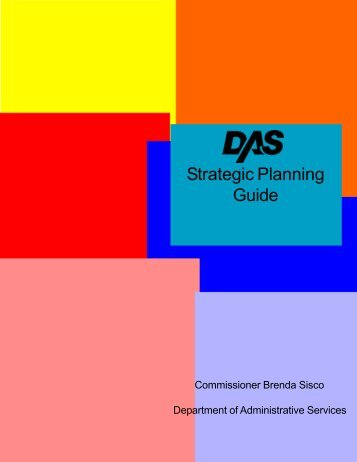 Strategic Planning Guide - Connecticut Department of ...