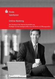 Direkt mit Online-Banking und - Förde Sparkasse