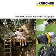 Produkty KÄRCHER do nawadniania ogrodów - Karcher