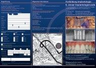 6. Jenaer Implantologierunde - Klinik und Poliklinik für Mund- Kiefer ...