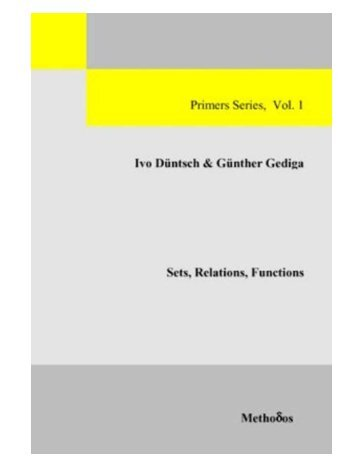 Sets, Relations, Functions