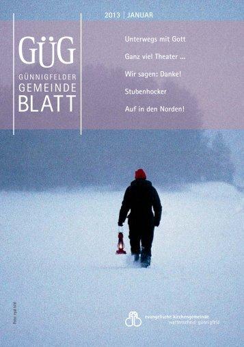GUEG - Jahrbuch 2013