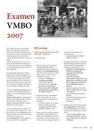 Examen VMBO 2007 BB Leerweg