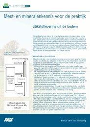 stikstoflevering uit de bodem - Vaklokaal NLT