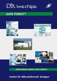 GATE FOREST® - Institut für Mikroelektronik Stuttgart