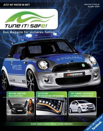 Driving Emotion gutEr rat top tuning HigHligHts Jetzt ... - Tune it! Safe!