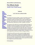 FIRE EFFECTS GUIDE - National Wildfire Coordinating Group - Page 2