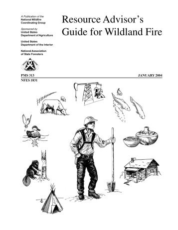Wildland Fire Suppression Tactics Reference Guide