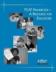 fcat handbook— a resource for educators - Bureau of K-12 ...