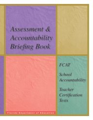 Assessment & Accountability Briefing Book - Bureau of K-12 ...