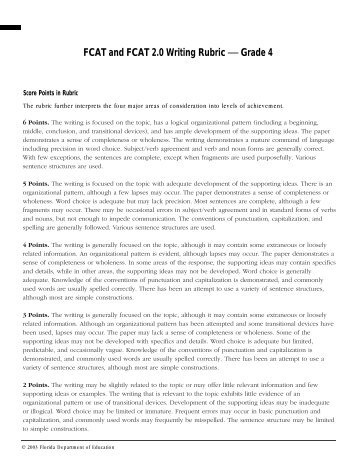 peer review rubric for essays