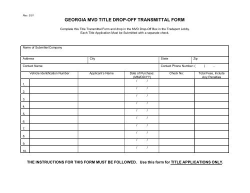 Document Transmittal Form Template from img.yumpu.com