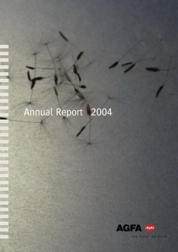 Agfa Annual Report 2004