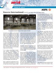 Kucera International: Still Flying High After All These Years - Agfa
