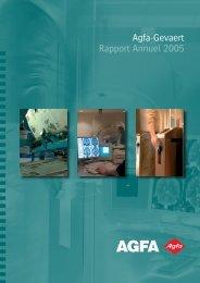 Agfa-Gevaert Rapport Annuel 2005