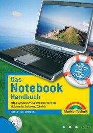 Das Notebook-Handbuch  - *ISBN 978-3-8272 ...