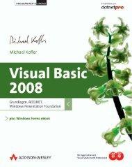 Visual Basic 2008  - *ISBN 978-3-8273-6187-5 ...